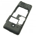 002501L2 D Cover Assy DS Black P5246 per Nokia 206