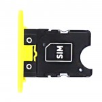 0269C76 SIM Tray Assembly Yellow per Microsoft Lumia 1020