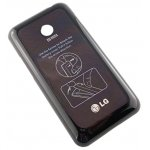 ACGA0046202 Cover batteria nero per LG Mobile LG-E720 Optimus Chic