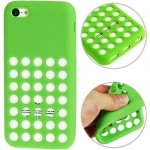 AGC-5C-SG Cover silicone verde per Apple iPhone 5c