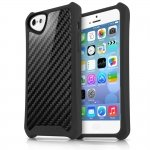 APNP-ATSCA-BLCK Cover Atom Sheen Carbon nera per Apple iPhone 5c