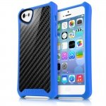 APNP-ATSCA-BLUE Cover Atom Sheen Carbon blue per Apple iPhone 5c