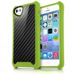 APNP-ATSCA-GREN Cover Atom Sheen Carbon verde per Apple iPhone 5c