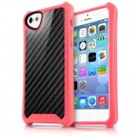 APNP-ATSCA-PINK Cover Atom Sheen Carbon rosa per Apple iPhone 5c