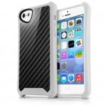 APNP-ATSCA-WITE Cover Atom Sheen Carbon bianco per Apple iPhone 5c