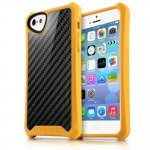 APNP-ATSCA-YELW Cover Atom Sheen Carbon giallo per Apple iPhone 5c