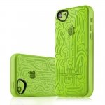APNP-NEINK-GREN Cover INK verde per Apple iPhone 5c