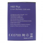 BATH60PLUS Batteria da 2100 mAh per Kn mobile H60 Plus