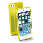 GUMMYSLIMIPHONE5Y Custodie morbide ultra sottili in gomma lucida per Apple iPhone 5-5s