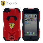 KP0504 Custodia Auto Ferrari per Apple iPhone 5-5s