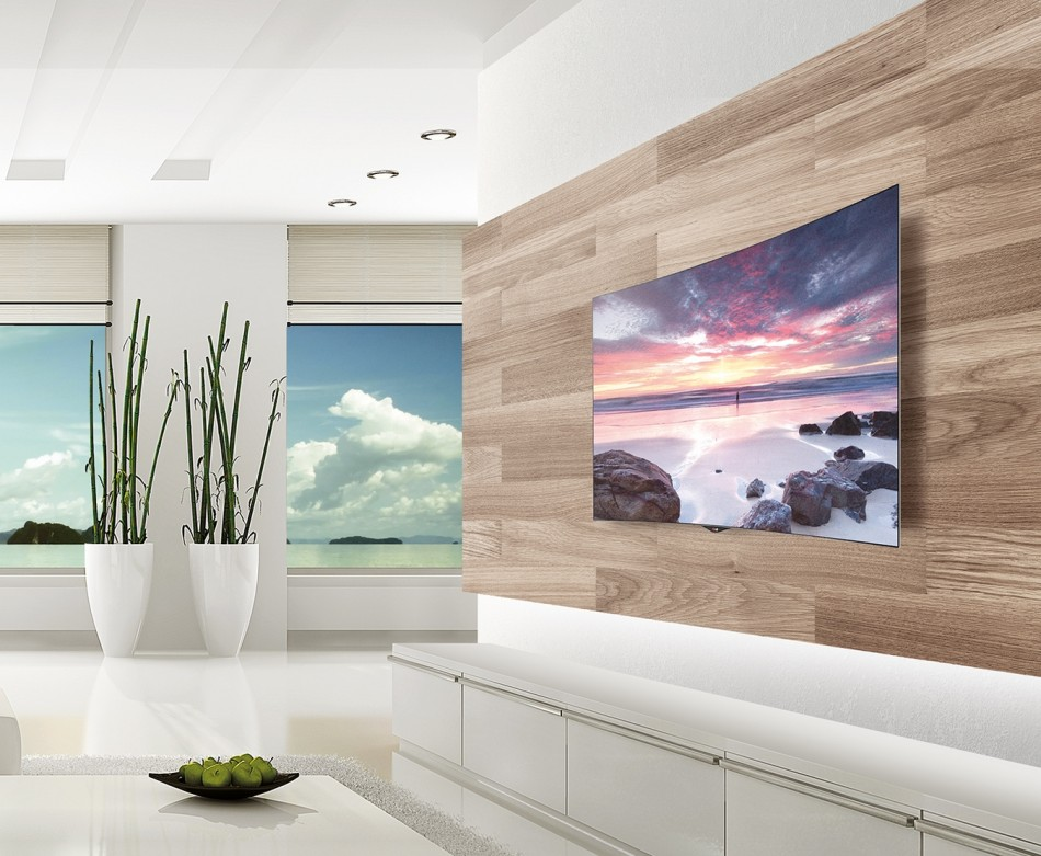 Parete Tv Design. Excellent Lighting In Between Tv And Plank Boards ...